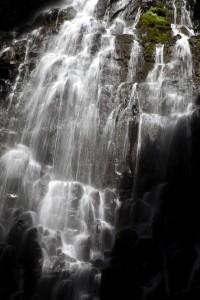 Falls Near Mt. Hood, Oregon