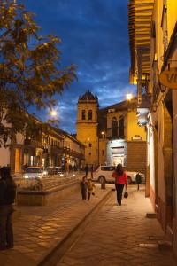 Plazoleta Santa Catalina, Cuzco, Peru