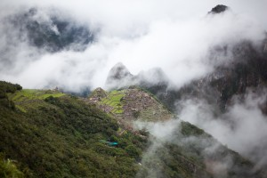 Machu Picchu Through the Mist